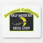 Half Moon Bay Dragstrip Mouse Pads