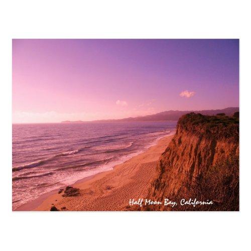 Half Moon Bay Postcard