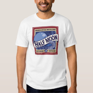 Half Moon Betta T-shirts