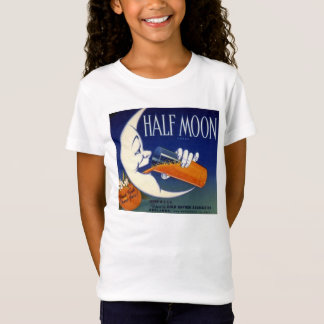 Half Moon Brand Oranges Crate Label T-Shirt