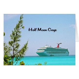 Half Moon Caye Bahamas Card