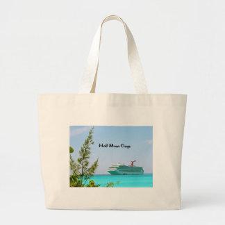 Half Moon Caye Bahamas Large Tote Bag