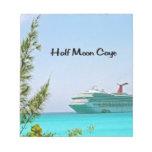 Half Moon Caye Bahamas Memo Note Pads