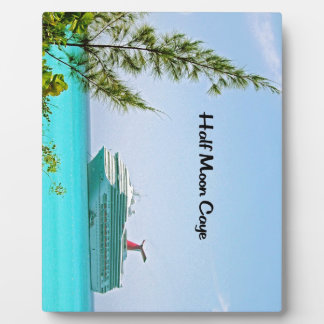 Half Moon Caye Bahamas Plaque