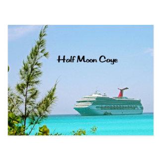 Half Moon Caye Bahamas Postcards