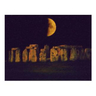 Half Moon Henge Postcard