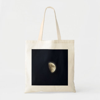 Half Moon Lunar Astronomy Photo Tote Bag