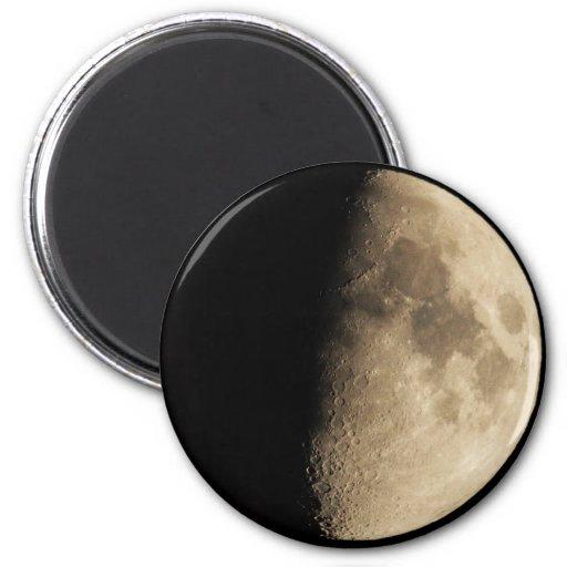 Half Moon Refrigerator Magnet