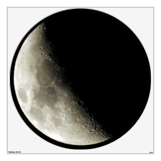 Half Moon Photography Wall Sticker
