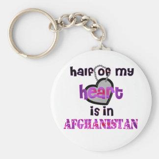 HALF MY HEART AFGHANISTAN KEYCHAINS