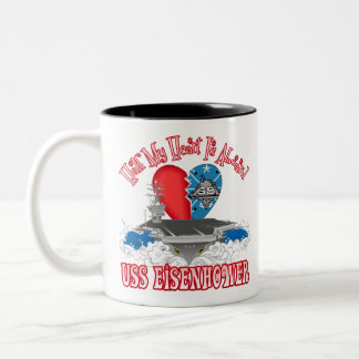 Half My Heart - Eisenhower Two-Tone Coffee Mug
