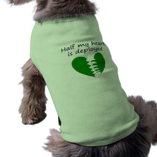Half My Heart Is Deployed Shirt