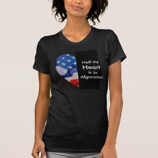 Half my  Heart  is in Afganistan! Tshirts
