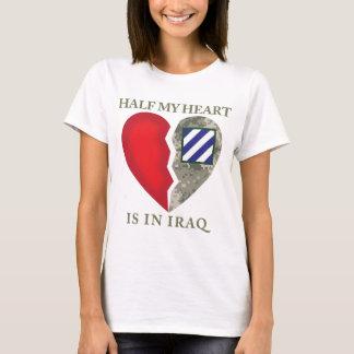 Half My Heart Is In Iraq 3rd ID T-Shirt