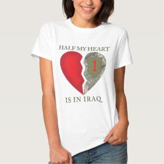 Half My Heart Is In Iraq Tshirts