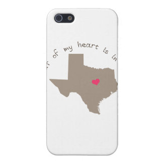 Half My Heart is in Texas iPhone SE/5/5s Cover