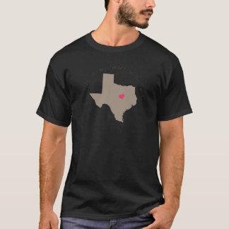 Half My Heart is in Texas T-Shirt