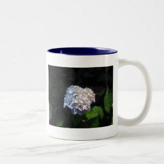 Half n Half Hydrangea Mug