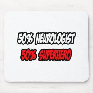 Half Neurologist...Half Superhero Mouse Pad