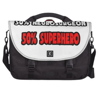 Half Neurosurgeon ... Half Superhero Commuter Bag