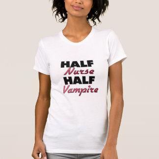 Half Nurse Half Vampire Tee Shirt