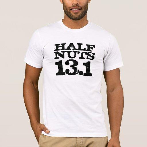 Half Nuts Half Marathon Shirt
