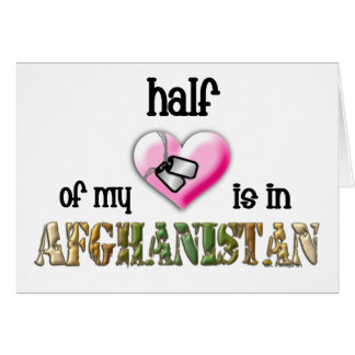half of my heart afghanistan 2 card