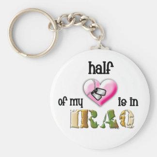 half of my heart...IRAQ 2 Key Chain