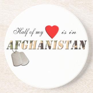 Half of my Heart is in Afghanistan Coaster