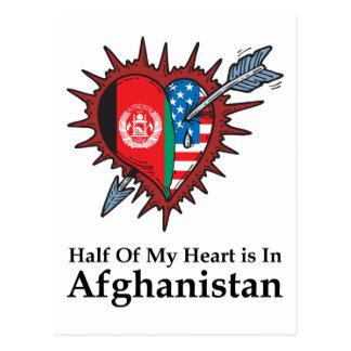 Half Of My Heart Is In Afghanistan Postcards