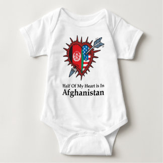 Half Of My Heart Is In Afghanistan T Shirt