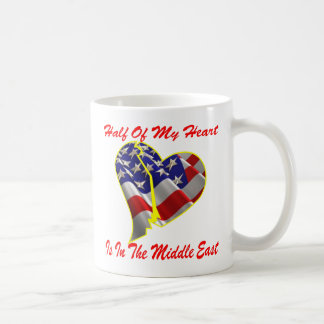 Half Of My Heart Is In The Middle East Coffee Mug