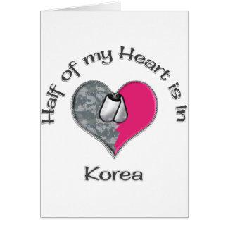 Half of my heart Korea Card