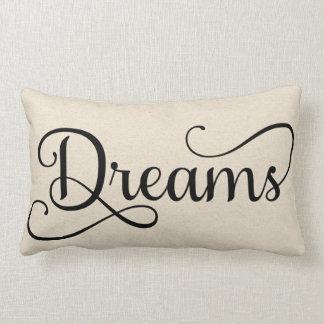 Half of Sweet Dreams   Dreams Lumbar Pillow