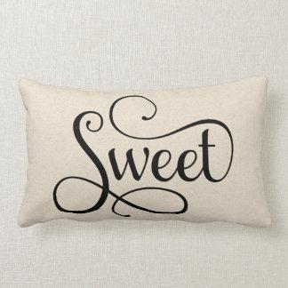 Half of Sweet Dreams   Sweet Lumbar Pillow