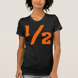 Half - Orange T-Shirt
