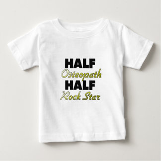 Half Osteopath Half Rock Star Baby T-Shirt
