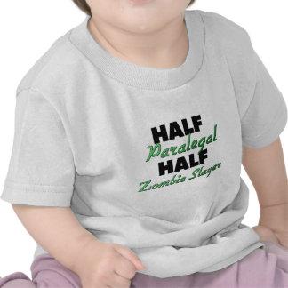 Half Paralegal Half Zombie Slayer Tshirt