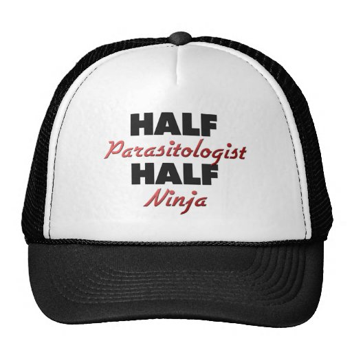 Half Parasitologist Half Ninja Trucker Hat