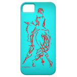 Half Pass: Turquoise iPhone 5/5s Case