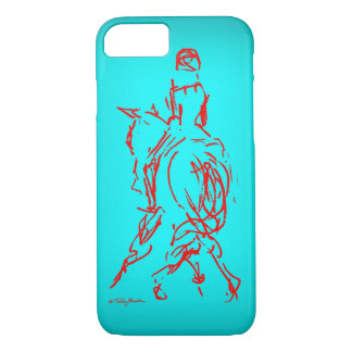 Half Pass: Turquoise iPhone 7 case