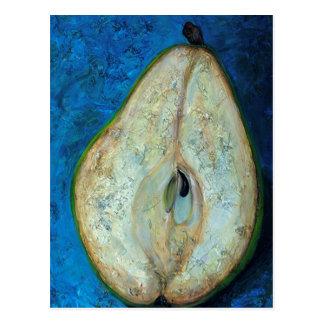 Half Pear Postcard
