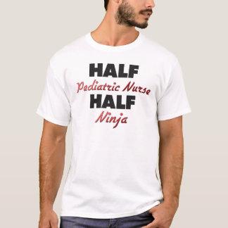 Half Pediatric Nurse Half Ninja T-Shirt