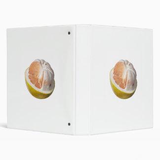 Half peeled pomelo binder