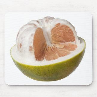 Half peeled pomelo mouse pad