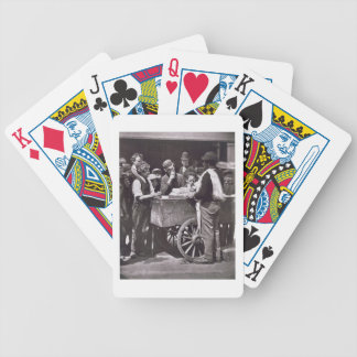 Half Penny Ices, from 'Street Life in London', 187 Bicycle Playing Cards