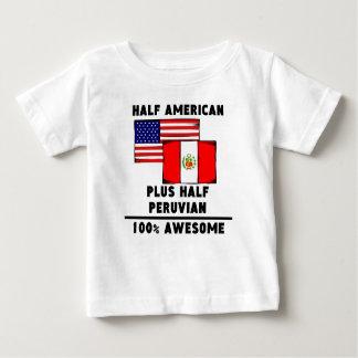 Half Peruvian 100% Awesome T-shirt