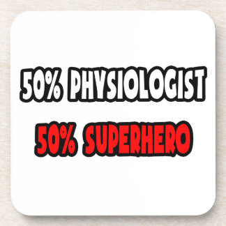 Half Physiologist ... Half Superhero Coaster