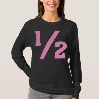Half - Pink T-Shirt