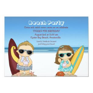 Half birthday invitations zazzle half pint surfers invitation filmwisefo